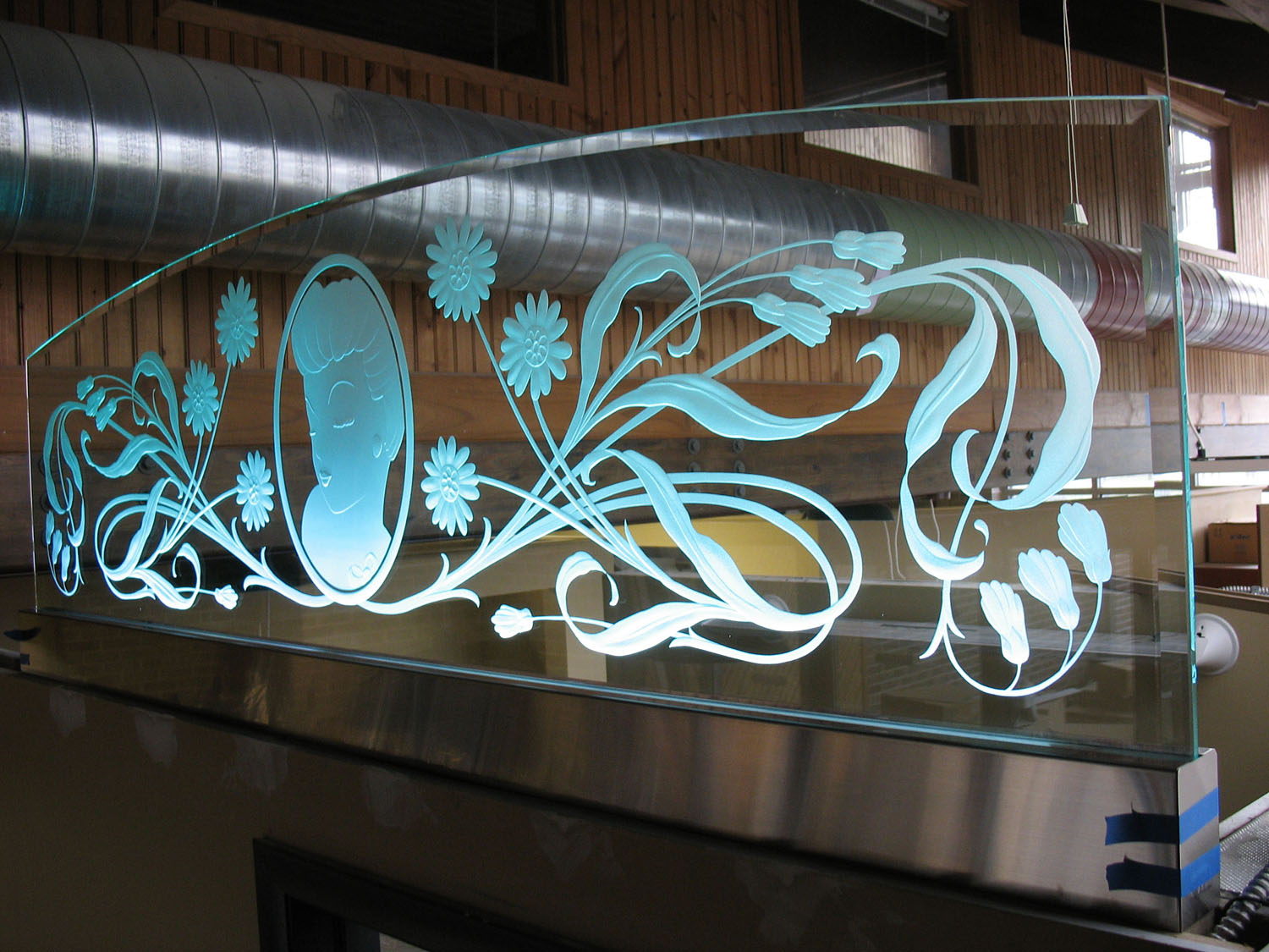 DEEP ETCHED GLASS
